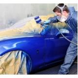 funilaria e pintura automotiva preço Sacomã