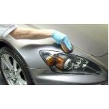 vitrificação de pintura automotiva
